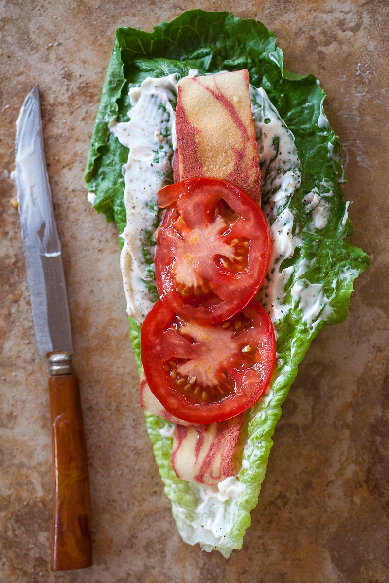 BLT Lettuce Wraps: THE BEST Late Summer Meal
