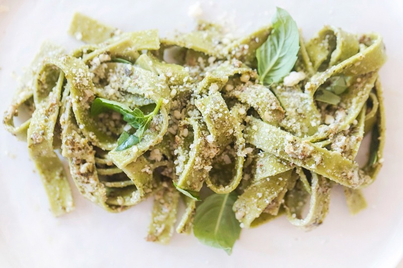 linguini-with-walnut-pesto