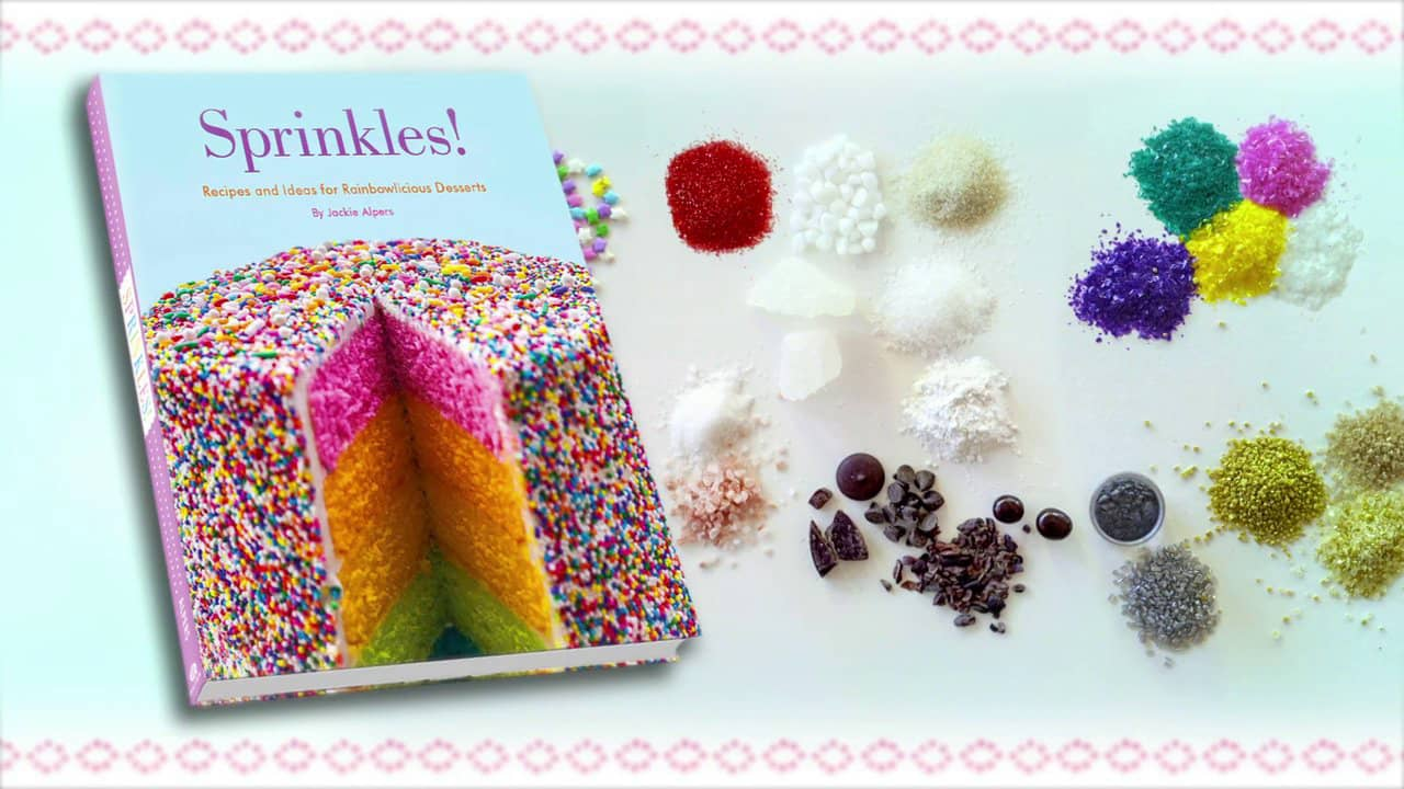 sprinkles cookbook trailer photo and cover image