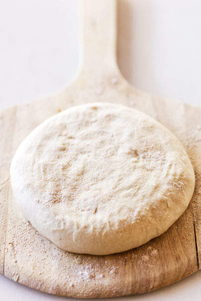 two ingredient pizza dough recipe photo by Jackie Alpers