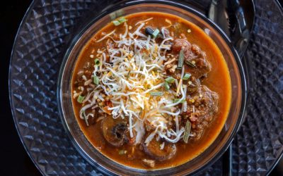 The Meatiest Vegetarian Chili Ever!